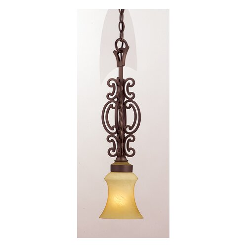 Kalco Hamilton 1 Light Mini Pendant