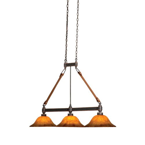 Rodeo Drive 3 Light Kitchen Island Pendant
