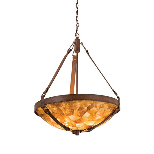 Rodeo Drive 6 Light Bowl Inverted Pendant