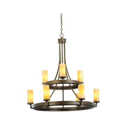 Kalco Espille 9 Light Chandelier
