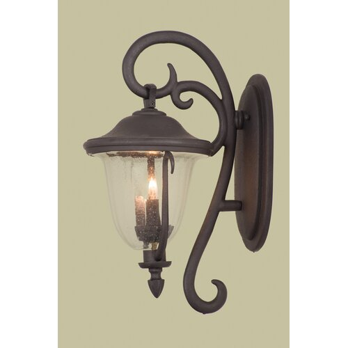 Kalco Santa Barbara 4 Light Outdoor Wall Lantern