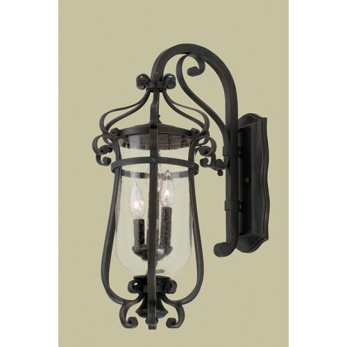 Kalco Hartford 3 Light Outdoor Wall Lantern