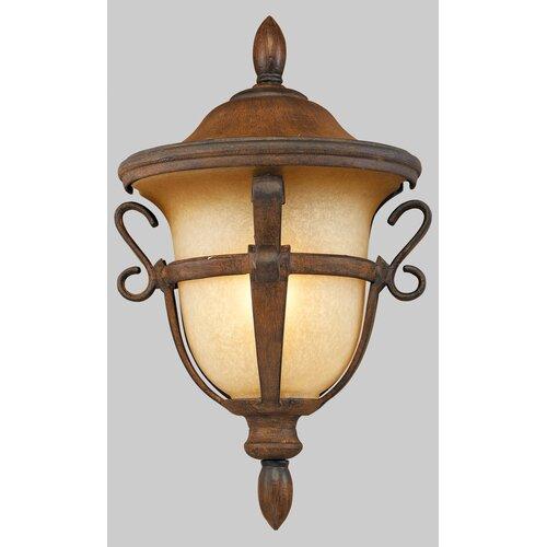 Kalco Tudor 1 Light Outdoor Wall Lantern