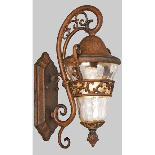 Kalco Anastasia 1 Light Outdoor Wall Lantern