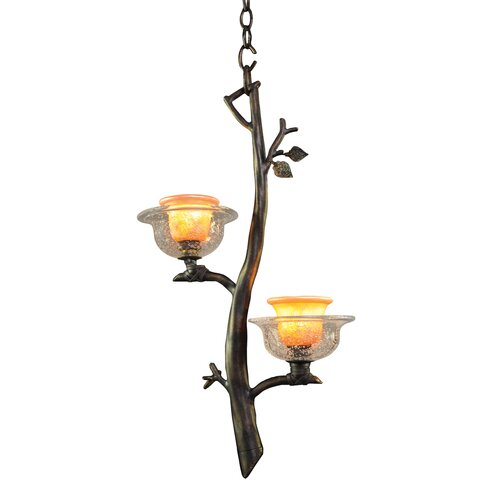 Cottonwood 2 Light Mini Pendant