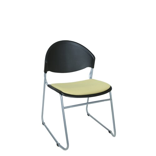 Scoop Guest / Meeting Chair with Padded Seat (Set of 4)