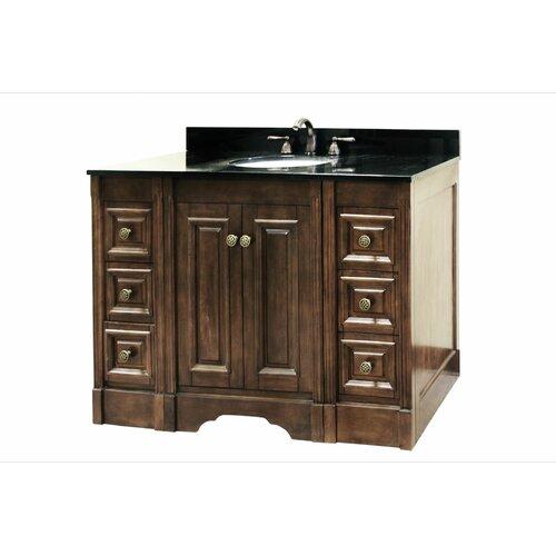 "Legion Furniture 48"" Single Sink Vanity Base with Soft Close Doors"
