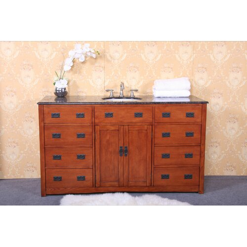 "Legion Furniture 60"" Single Bathroom Vanity Set"
