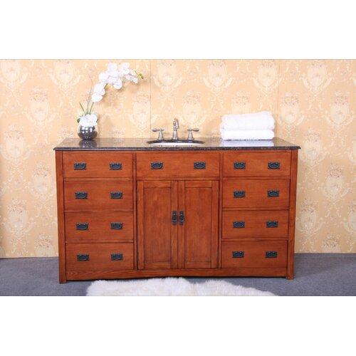 """Legion Furniture 60"""" Single Bathroom Vanity Set"""