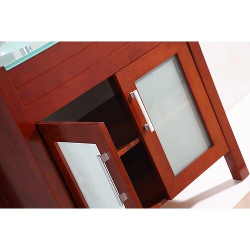 "Legion Furniture 32"" Single Bathroom Vanity Set with Mirror"