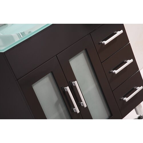 "Legion Furniture 32"" Single Bathroom Vanity Set with Mirror"