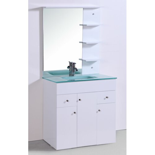 "Legion Furniture 32"" Vanity Set with Mirror"