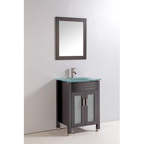 "24"" Bathroom Vanity Set with Mirror"