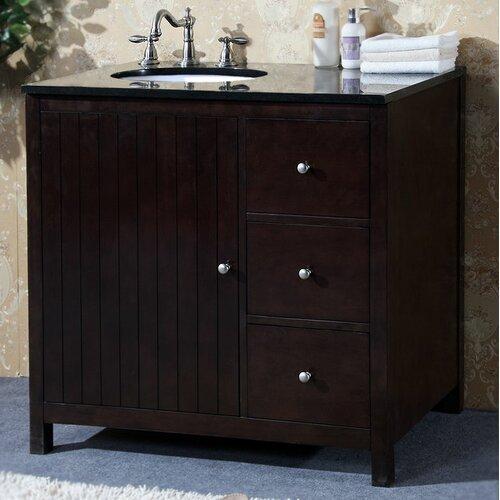 "Legion Furniture 36"" Single Sink Vanity Base"
