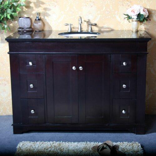 "Legion Furniture 48"" Single Bathroom Vanity Set with 2 Door"