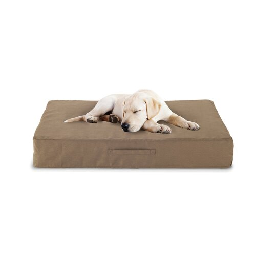 Luxury Memory Foam Dog Bed with Microfiber Cover