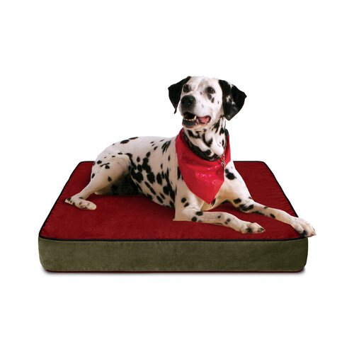 Luxury Memory Foam Dog Bed with Lux Designer Microfiber Cover