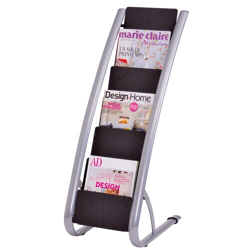Alba 6 Pocket Floor Display Rack