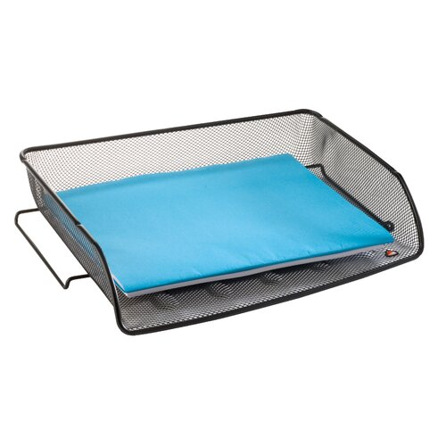 Alba Mesh Stackable Side Load Letter Tray