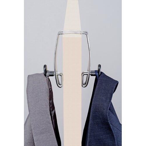 Alba Over-The-Panel Double Coat Hook