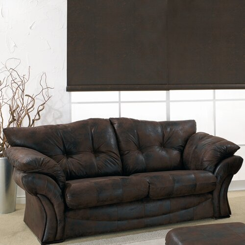 Lebus Upholstery Florida Leather 3 Seater Sofa
