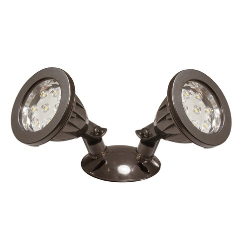 American Lighting LLC Panorama Double Head Floodlight