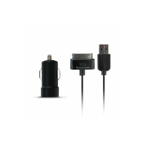iessentials iPod/iPhone/iPad USB Car Charger