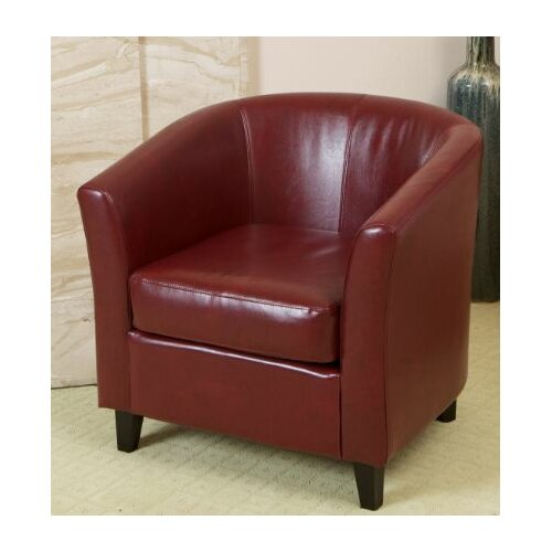 Home Loft Concept Monvia Leather Arm Chair