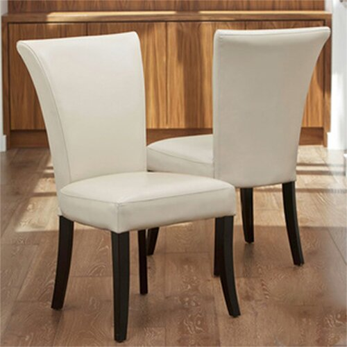 Columbia Leather Dining Chairs (Set of 2) (Set of 2)