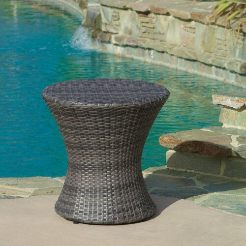 Home Loft Concept Tangiers Wicker Outdoor Accent Table