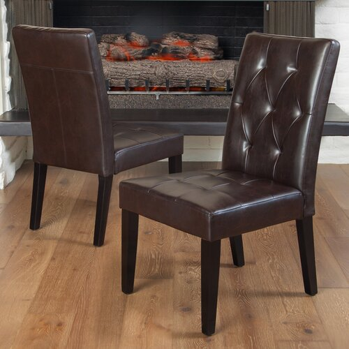 Home Loft Concept Colwynn Stitched 2pk Dining Chair (Set of 2)