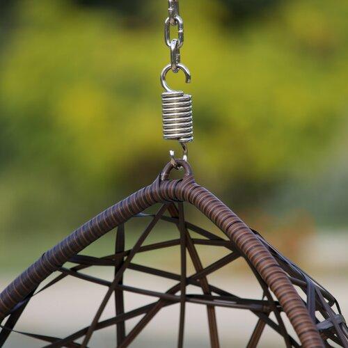Home Loft Concept Stamford Wicker Tear Drop Swinging Chair