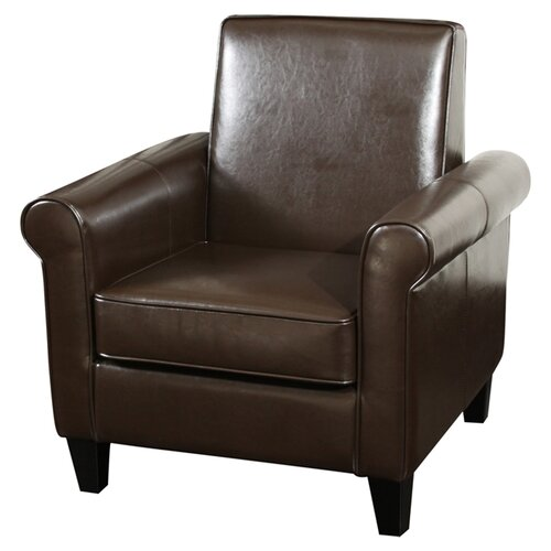 Home Loft Concept Brooks Bonded Leather Club Chair