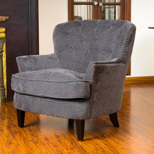 Home Loft Concept Waldorf Diamond Tufted Club Chair