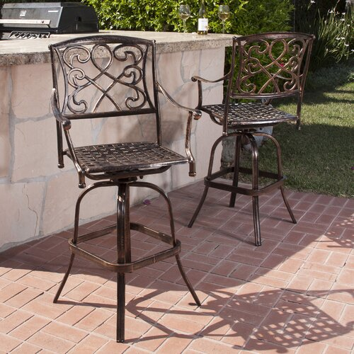 Home Loft Concept Taranto Bar Stools (Set of 2)