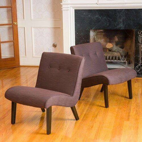 Home Loft Concept Belknap Slipper Chair (Set of 2)