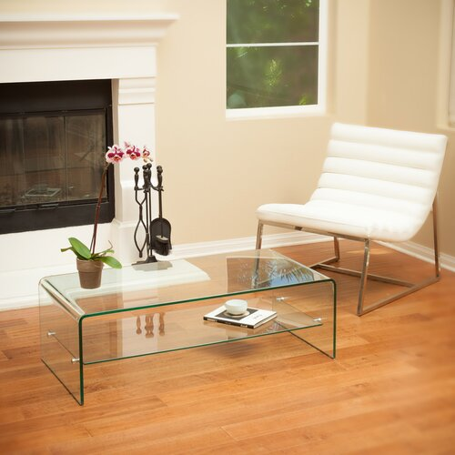 home loft concept celeia coffee table with shelf reviews wayfair. Black Bedroom Furniture Sets. Home Design Ideas