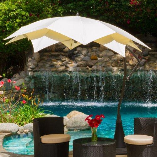 9.8' Waterlily Cantilever Umbrella