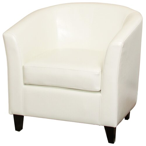 Home Loft Concept Brighton Bonded Leather Club Chair