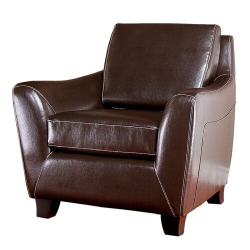 Bruno Leather Club Chair