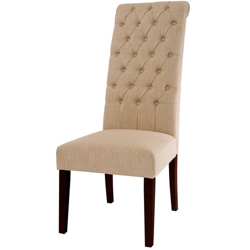 Home Loft Concept Lakeland Tall Tufted Dining Chair (Set of 2)