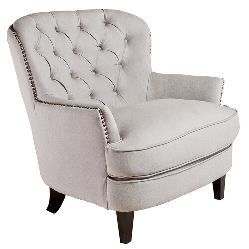 Home loft concept jerome tufted armchair reviews wayfair Tufted accent chair