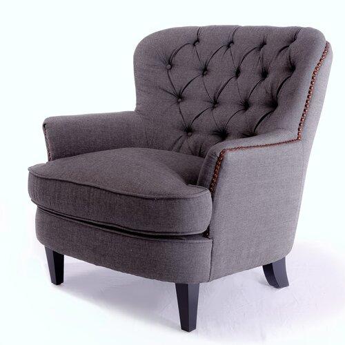 home loft concept cheshire club chair reviews wayfair. Black Bedroom Furniture Sets. Home Design Ideas