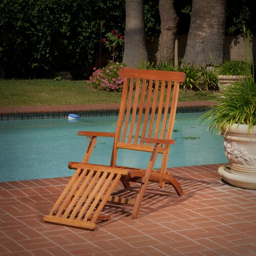 Rico Foldable Wood Lounge Chair