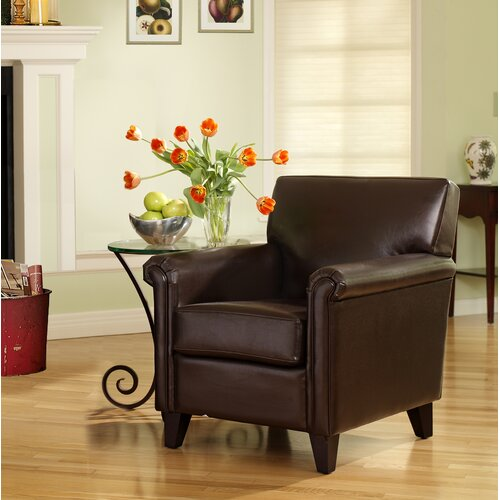 Lerentee Leather Arm Chair