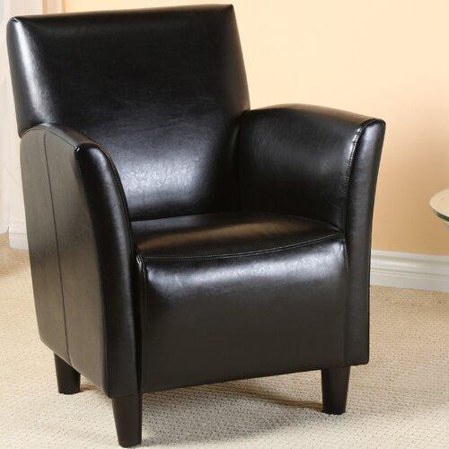 Lawson Bonded Leather Club Chair