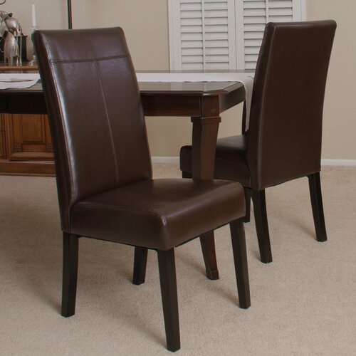 Home Loft Concept Caleb PU Dining Chair (Set of 2) (Set of 2)