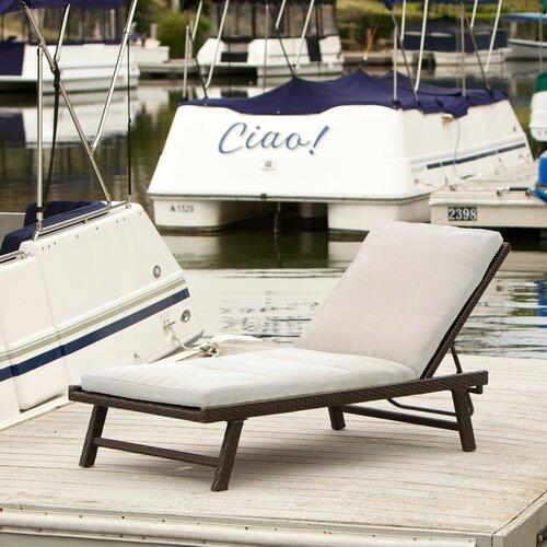 home loft concept aruba chaise lounge with cushion reviews wayfair. Black Bedroom Furniture Sets. Home Design Ideas