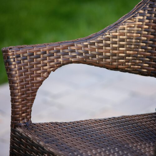 Home Loft Concept Norm Outdoor Wicker Chairs (Set of 2)