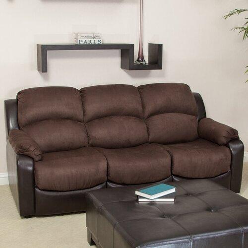 Home Loft Concept Bryant Microfiber Sleeper Sofa